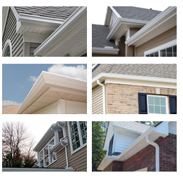gutters collage