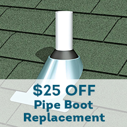 pipe boot replacement