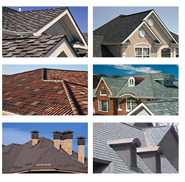 roofing collage